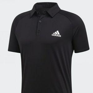 New adidas Club Rib Polo Shirt Tennis Clim…